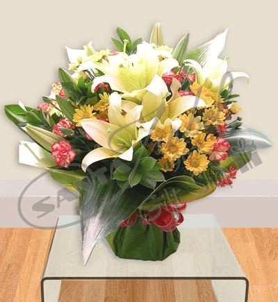 Mix de flores variadas